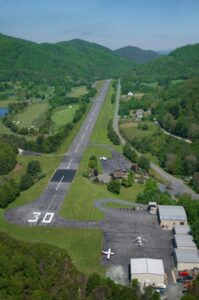 jetport airstrip at elk river club in banner elk