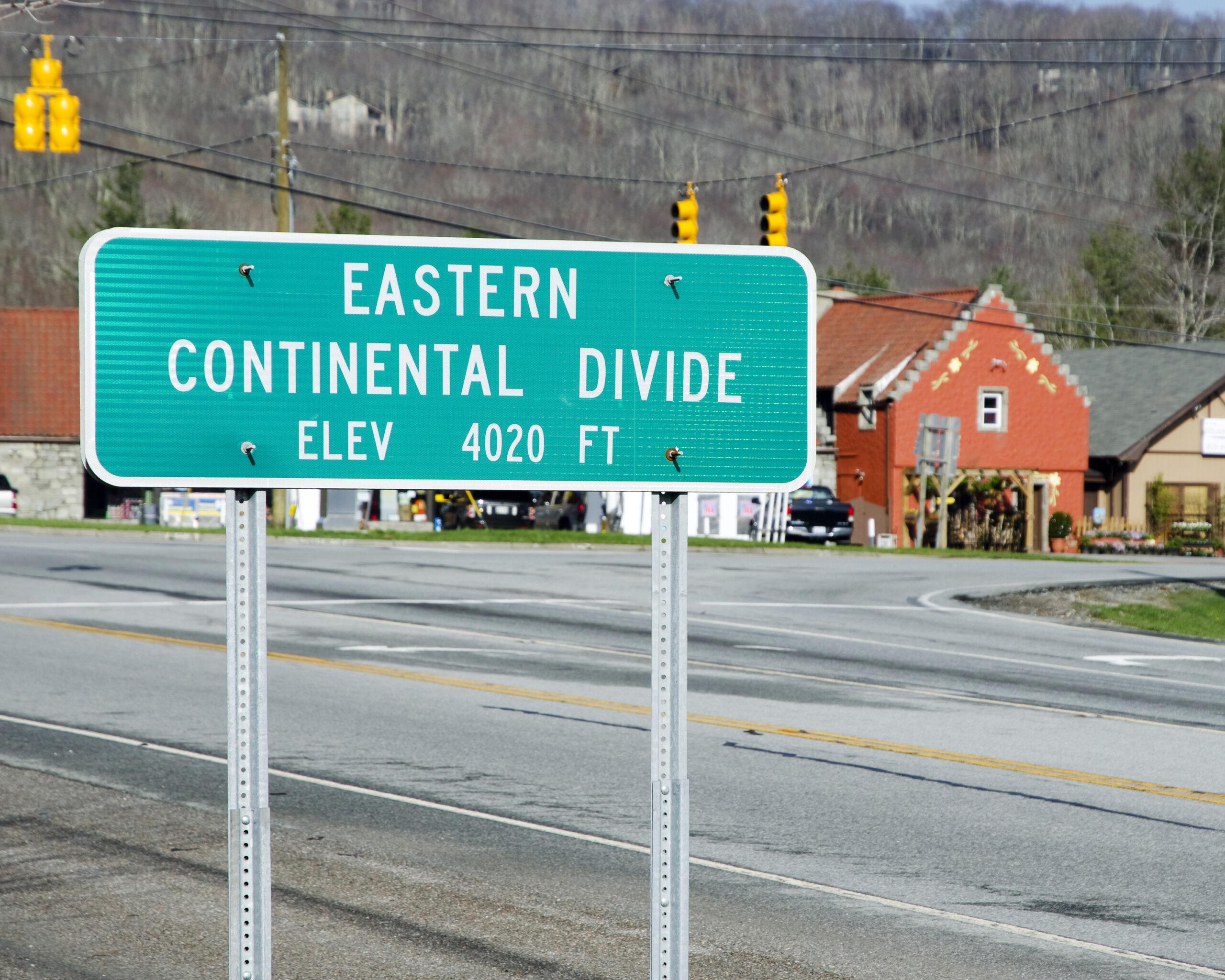 banner elk north carolina, eastern continental divide elevation of 4,020 ft